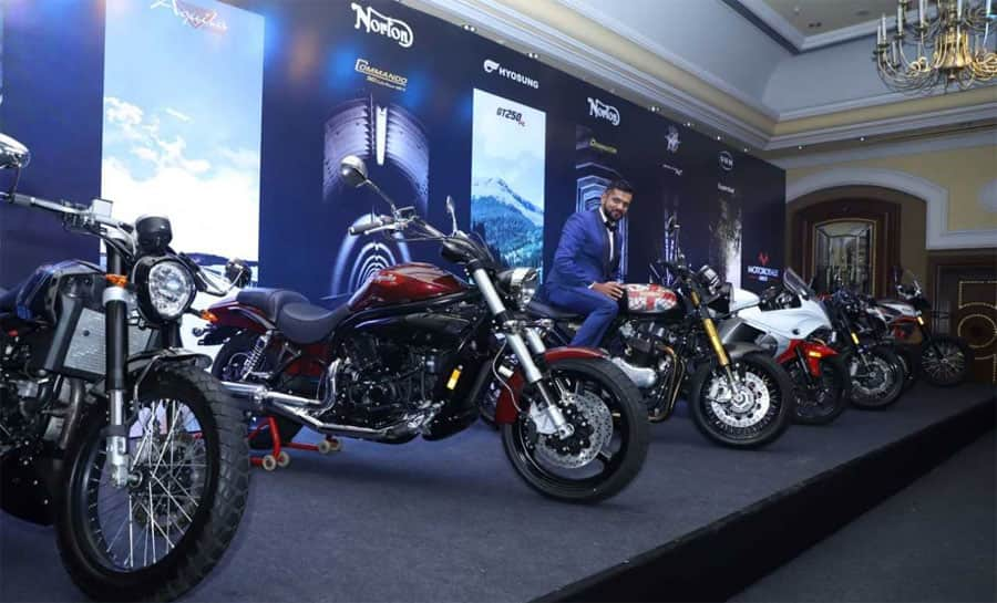 Motoroyale Kinetic launches 7 new superbikes in India