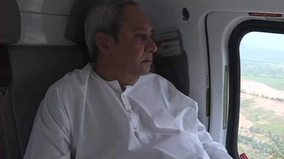 Cyclone Titli: Naveen Patnaik conducts aerial survey of flood-hit districts; crops, roads, trees suffered max damage