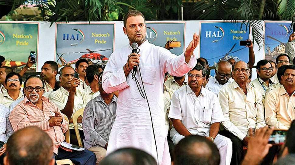 HAL regrets politicisation of its employees after Rahul Gandhi attacks Centre on Rafale deal