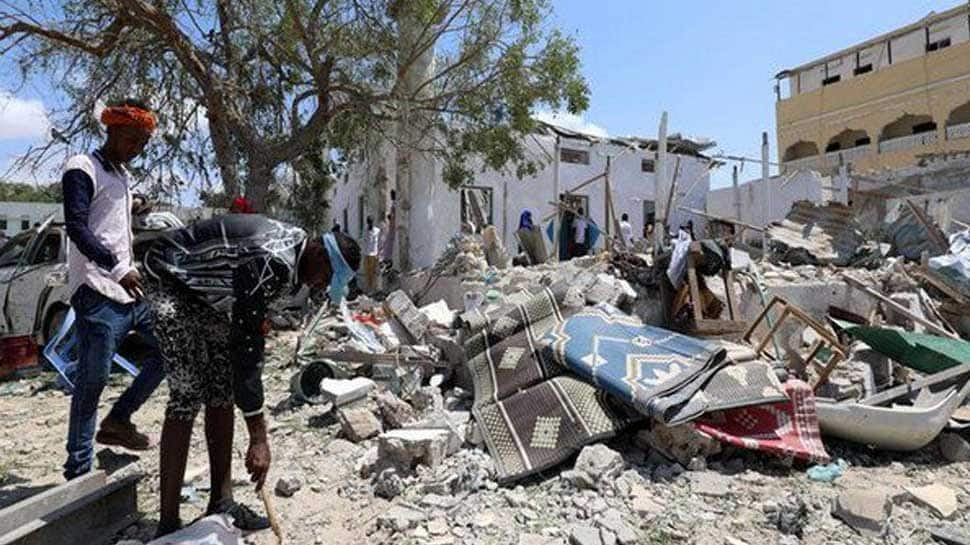 14 dead, over 20 injured in twin suicide blasts in Somalia