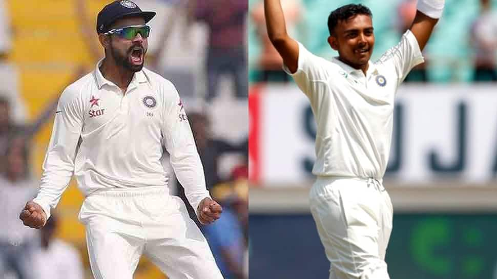 Virat Kohli lauds Prithvi Shaw, says Man of the Series is an outstanding achievement