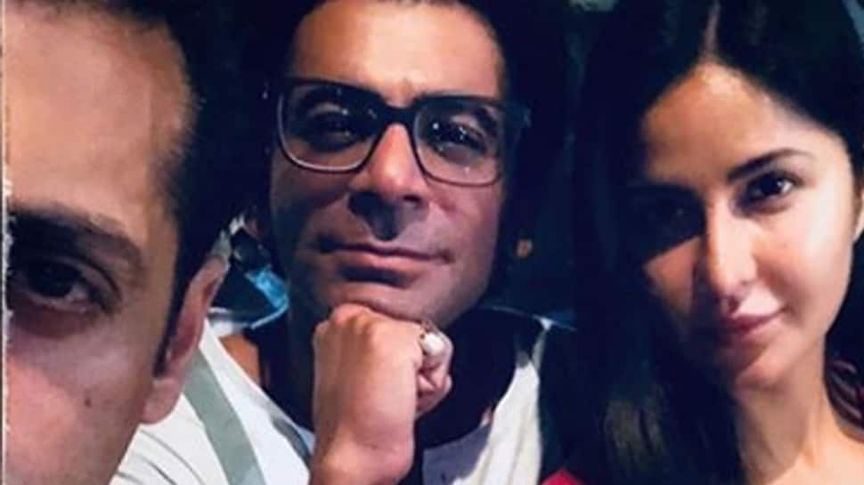 Katrina Kaif shares picture with Salman Khan, Sunil Grover from 'Bharat' sets