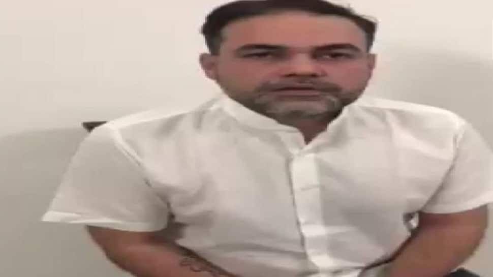 Delhi: Ex-BSP MP's son Ashish Pandey who brandished gun at 5-star hotel surrenders