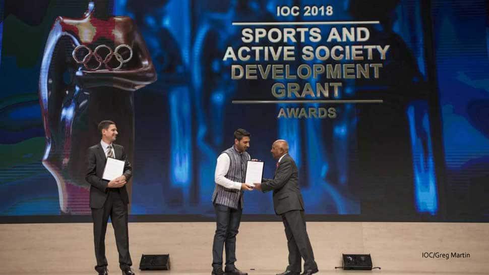 Pro Sport Development receives IOC award for outstanding work in Sports