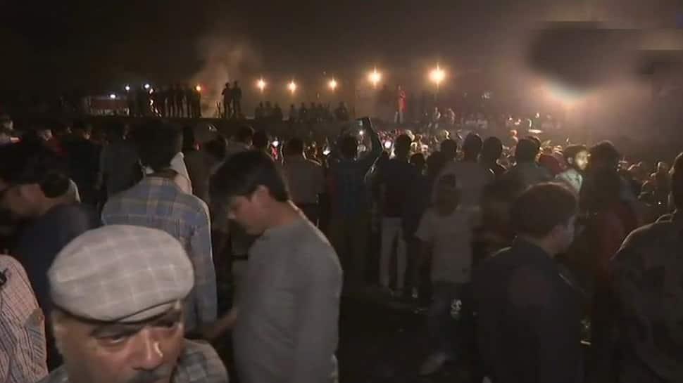 Caught on camera: Train mows down people watching 'Ravana dahan' in Amritsar