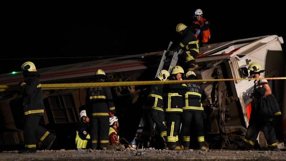 Taiwan train crash kills 18, injures 168 in deadliest rail tragedy in decades