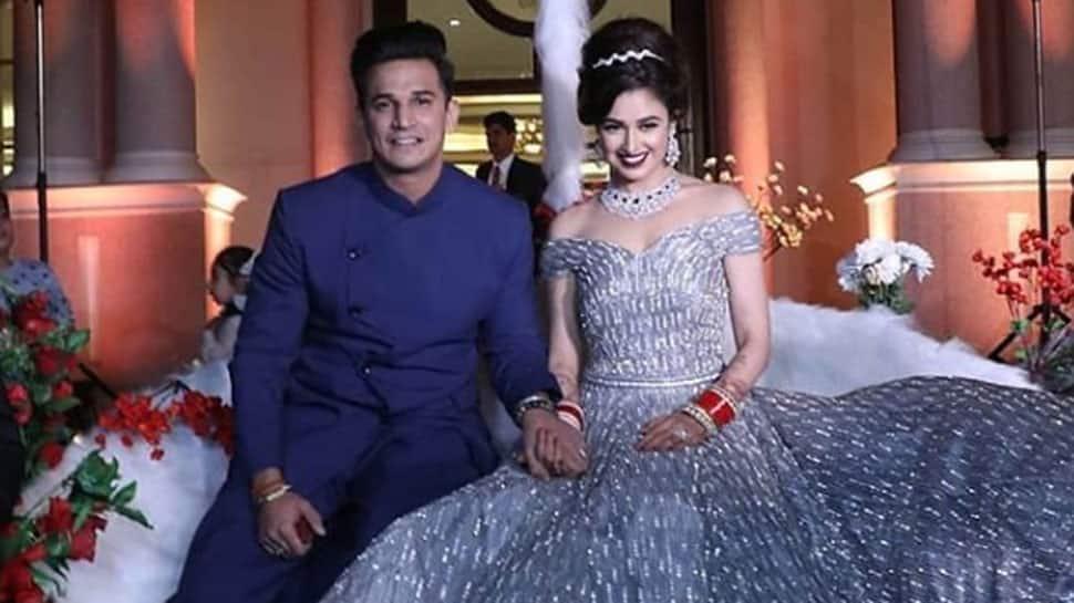 Yuvika Chaudhary-Prince Narula's wedding reception videos highlight fairytale romance—Watch