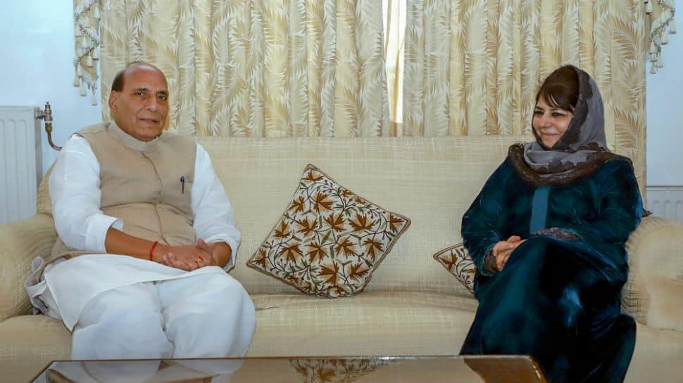 Good relations with Pak has positive impact on J&K: Mehbooba tells Rajnath