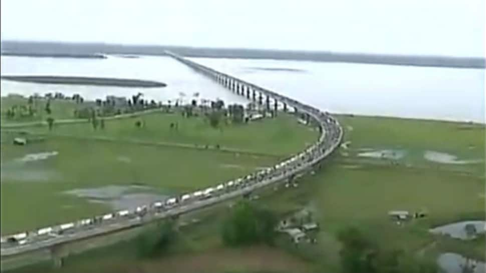 India's longest river bridge promises to reduce distance of 200 kms to just 20 kms