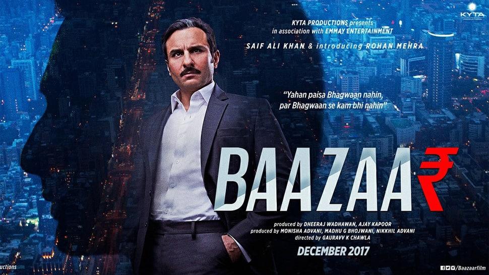 Baazaar movie review: Saif Ali Khan's career's best 'Baazaar' raises hindi cinema's equity
