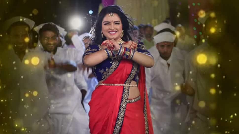 Amrapali Dubey's sizzling dance in 'Chicken Biryani Champa Ki Jawani' song a big hit on YouTube—Watch