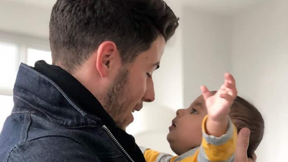 Priyanka Chopra shares an endearing picture of Nick Jonas and her nephew
