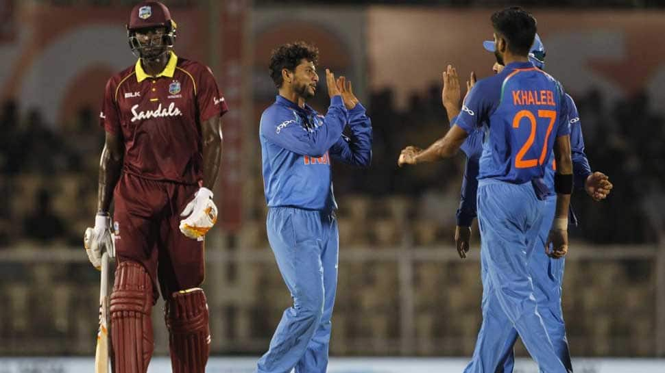India vs West Indies 4th ODI: India win by 224 runs, take 2-1 series lead