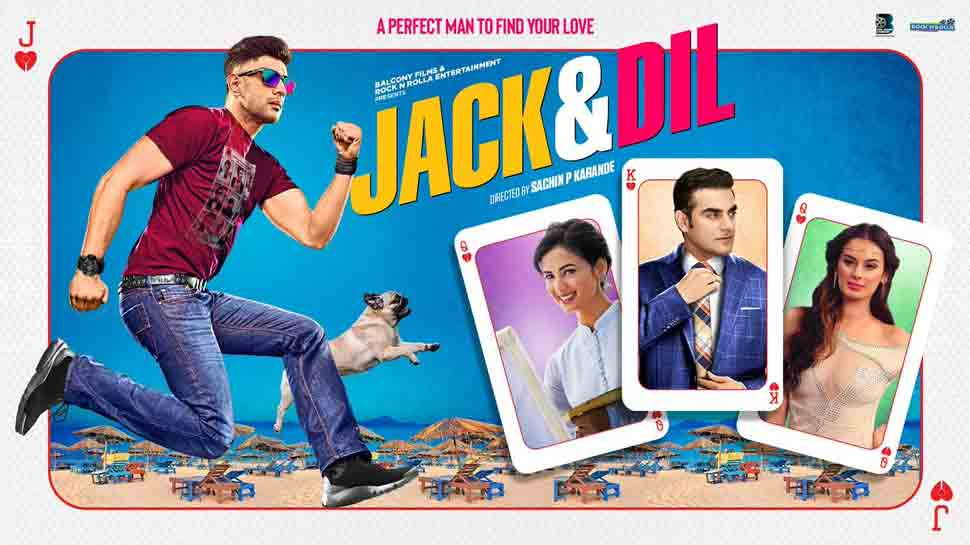 Jack and Dil moview review, Arbaaz Khan, Amit Sadh film script lacks the heft