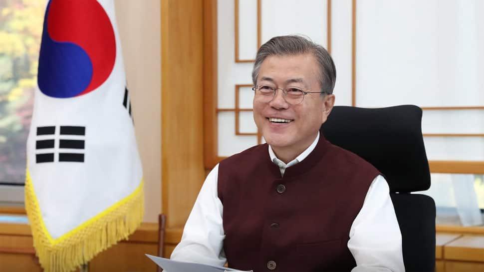 'Smart vest,' said South Korean president Moon Jae-in, PM sent him 'Modi jackets'