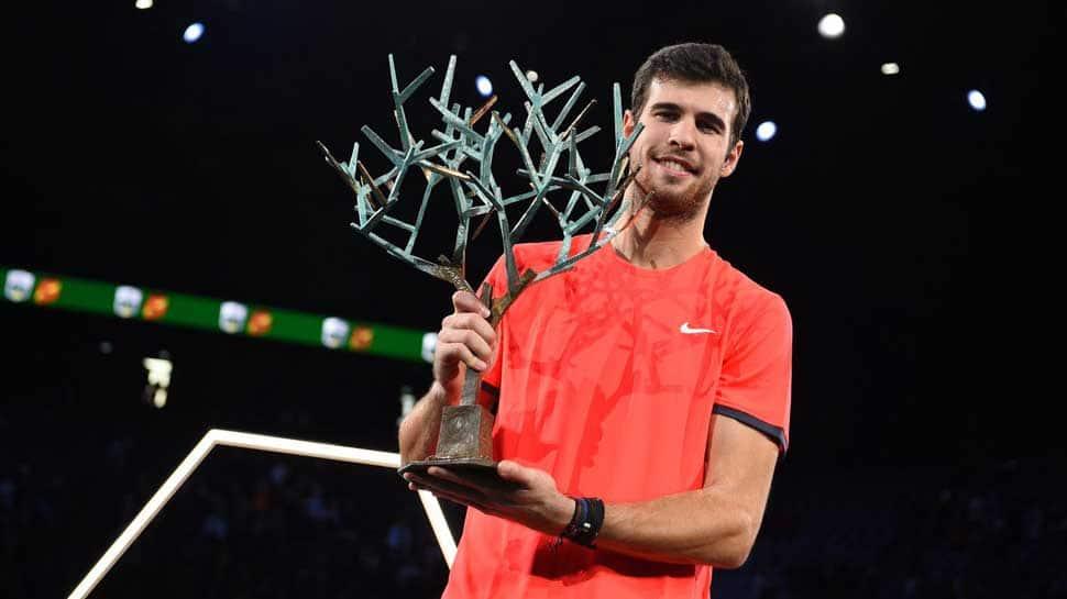 Karen Khachanov shocks Novak Djokovic to win Paris crown