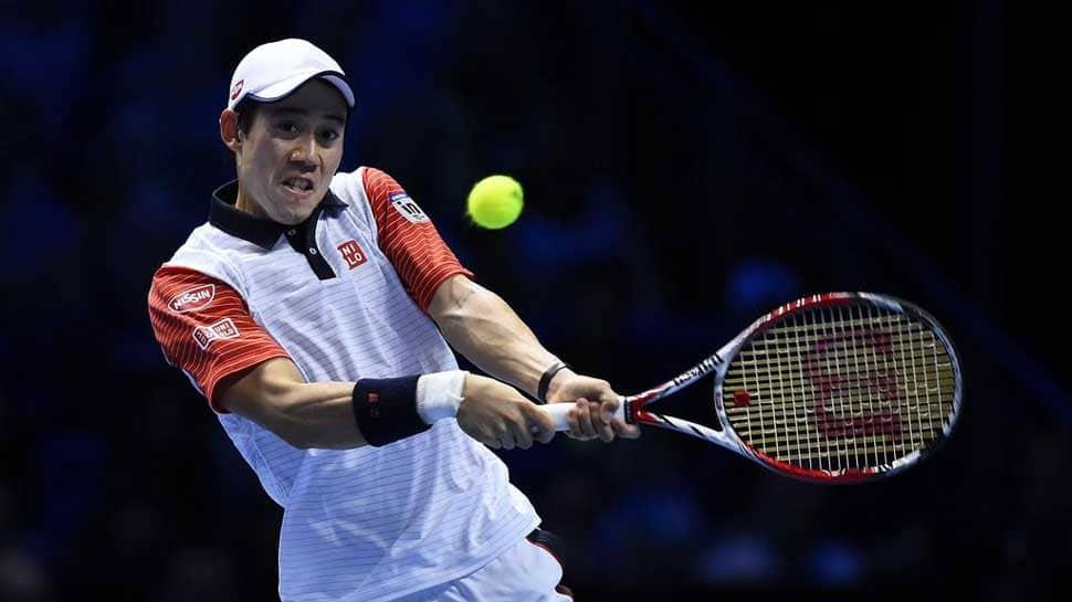 Kei Nishikori to replace Juan Martin Del Potro at ATP Finals