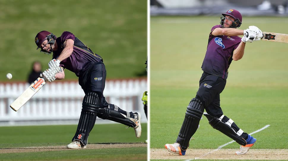 New Zealand duo belt 43 runs in an over, sets world record