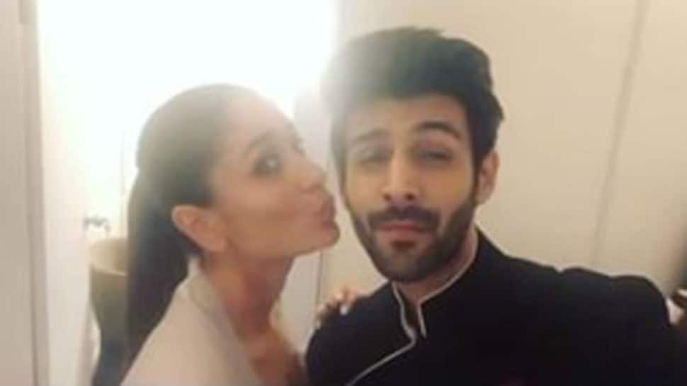 Kartik Aaryan's Diwali selfie with Kareena Kapoor Khan is breaking the internet—See inside