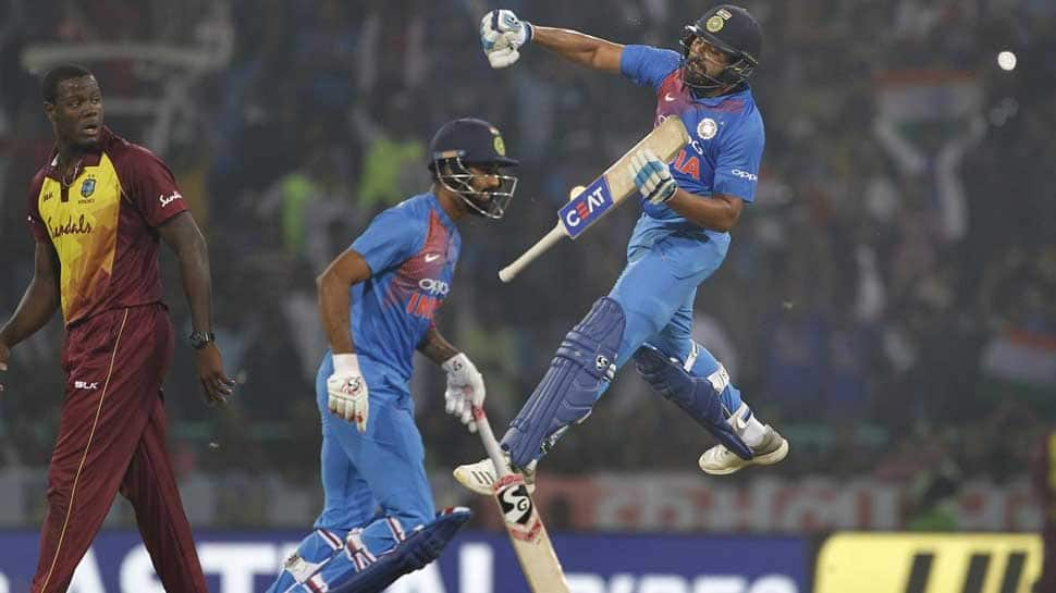 India vs Windies 3rd T20: Sharma needs 69 runs to become leading run-scorer in T20Is