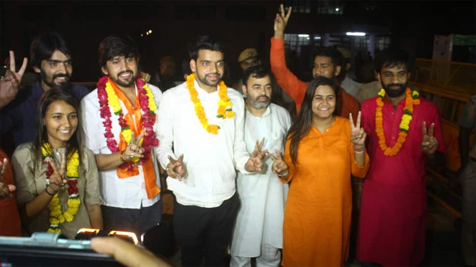 ABVP suspends Ankiv Baisoya from party over 'fake degree' row, asks to quit as DUSU president