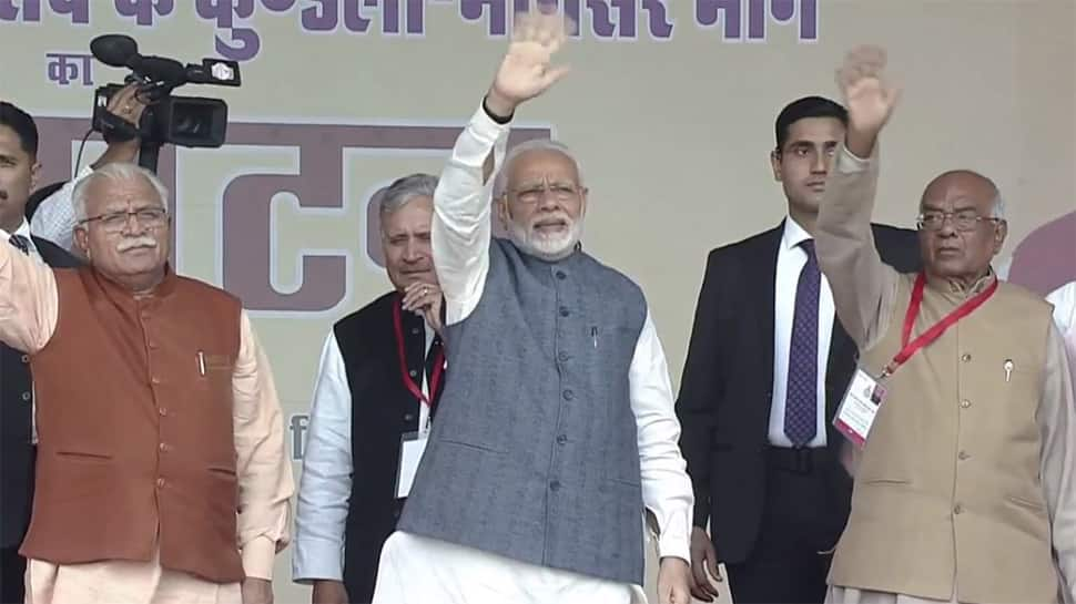 PM Narendra Modi inaugurates Western Peripheral Expressway, Congress claims flyover incomplete