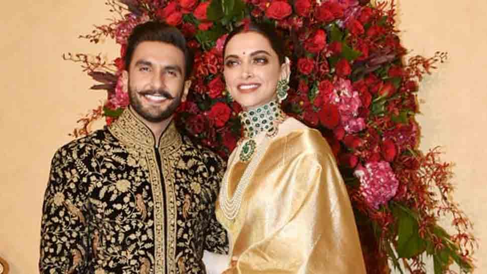Ranveer Singh and Deepika Padukone's wedding reception ...
