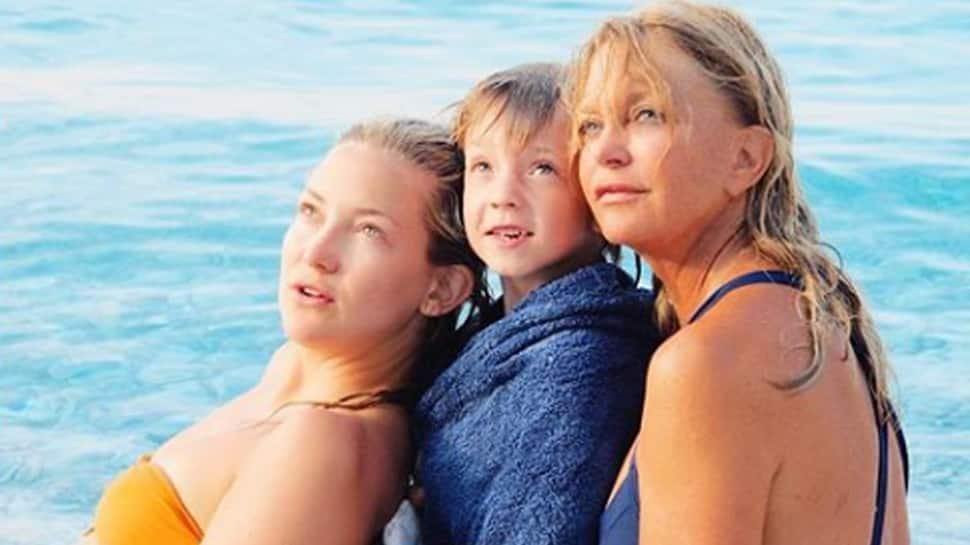 Kate Hudson's heartfelt wish on mom's 73rd birthday
