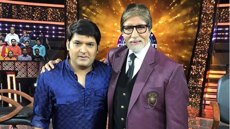 Kapil Sharma asks for marriage tips from Amitabh Bachchan on KBC 10