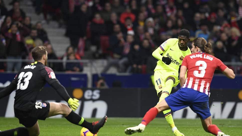 La Liga: Ousmane Dembele salvages Barcelona late draw against Atletico