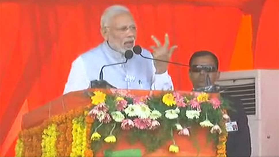 Congress divided Andhra Pradesh and Telangana, both suffering till date: PM Modi