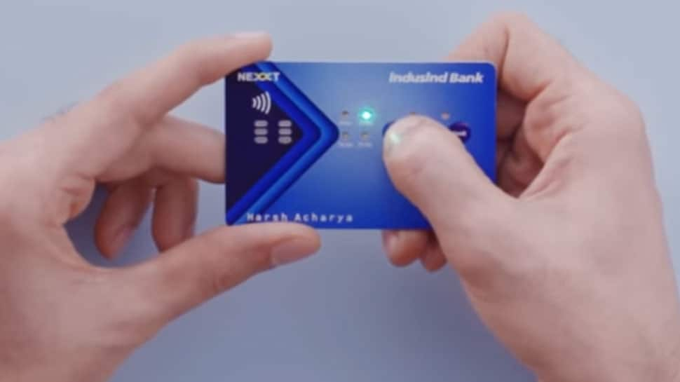 IndusInd Bank launches  battery-powered interactive credit card with buttons
