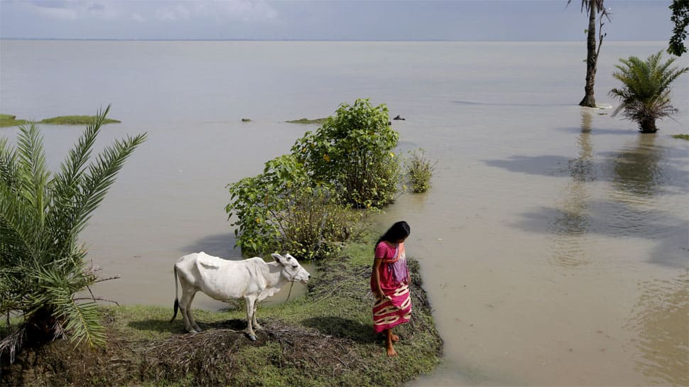 Villagers' survival at stake in India's disappearing island
