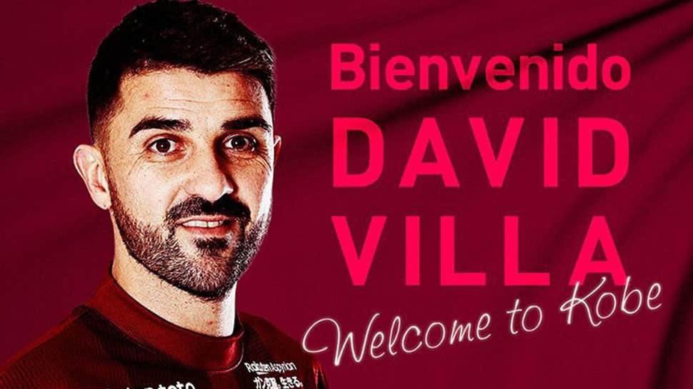 David Villa joins Andres Iniesta, Lukas Podolski at J.League club Vissel Kobe