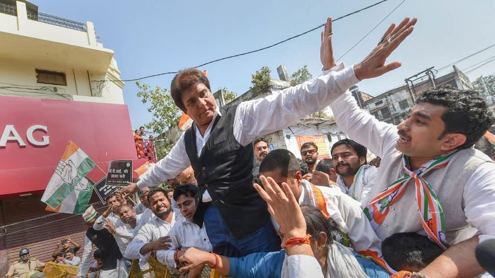 BJP files complaint against Congress leader Raj Babbar for violating model code of conduct