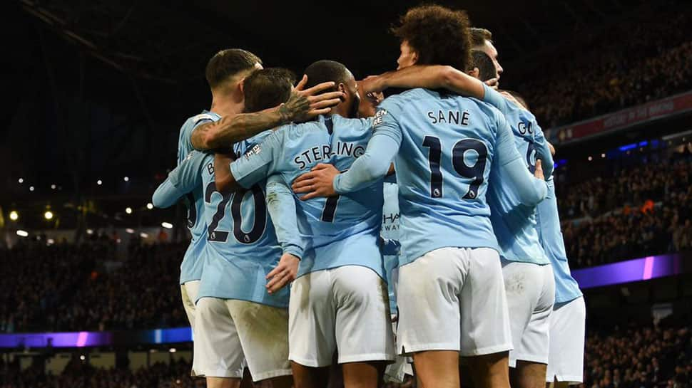 EPL: Relentless Manchester City go five clear with win over Bournemouth