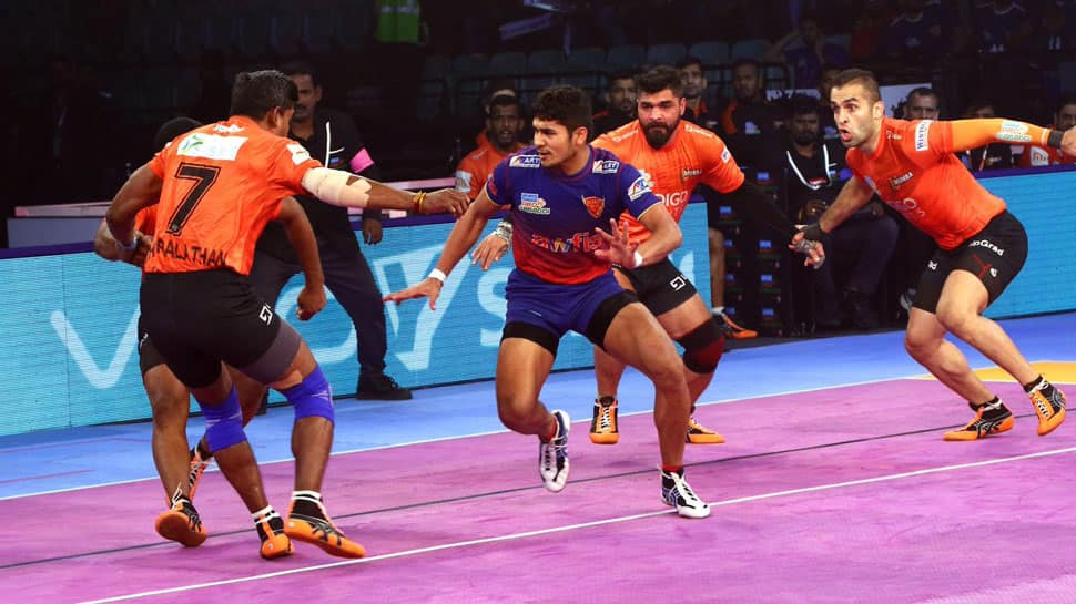 Pro Kabaddi League: U Mumba outclass Dabang Delhi 41-34