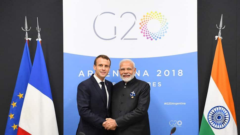 G-20 summit: PM Narendra Modi, French President Emmanuel Macron discuss ways to diversify strategic partnership