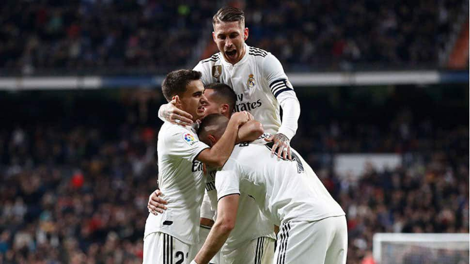 Real Madrid fumble their way to La Liga win over Valencia