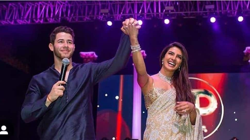 Priyanka faces flak for celebratory firework at her wedding