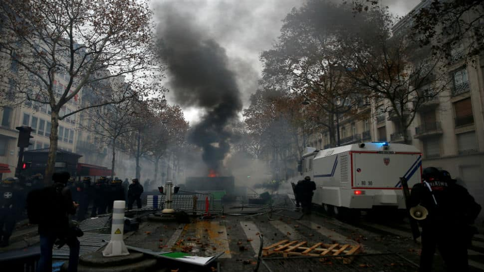 Amid protests, French govt preparing to suspend fuel tax increases: Sources