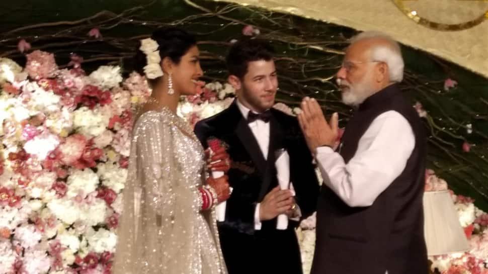 PM Modi attends Priyanka-Nick's Delhi reception