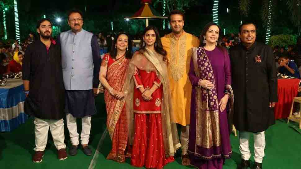 Isha Ambani's wedding celebrations begin with auspicious Anna Seva — Pics inside