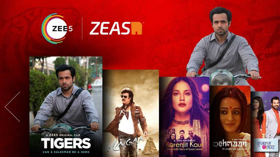 ZEE5 strengthens its presence in APAC, MENA and Africa: Announces a Strategic Alliance with Zeasn