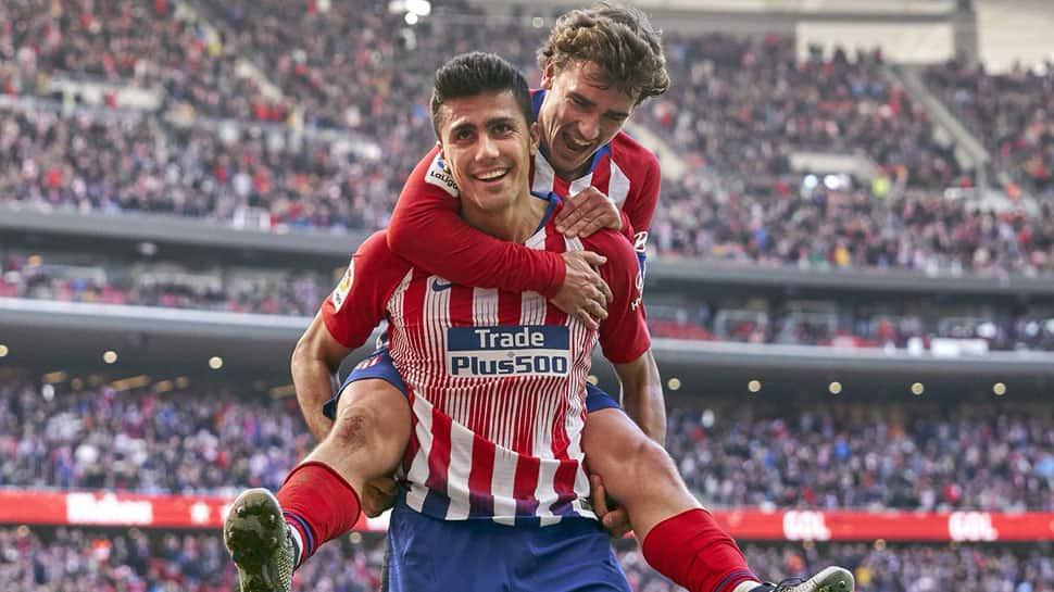 La Liga: Atletico Madrid move into second with 3-0 win over Alaves