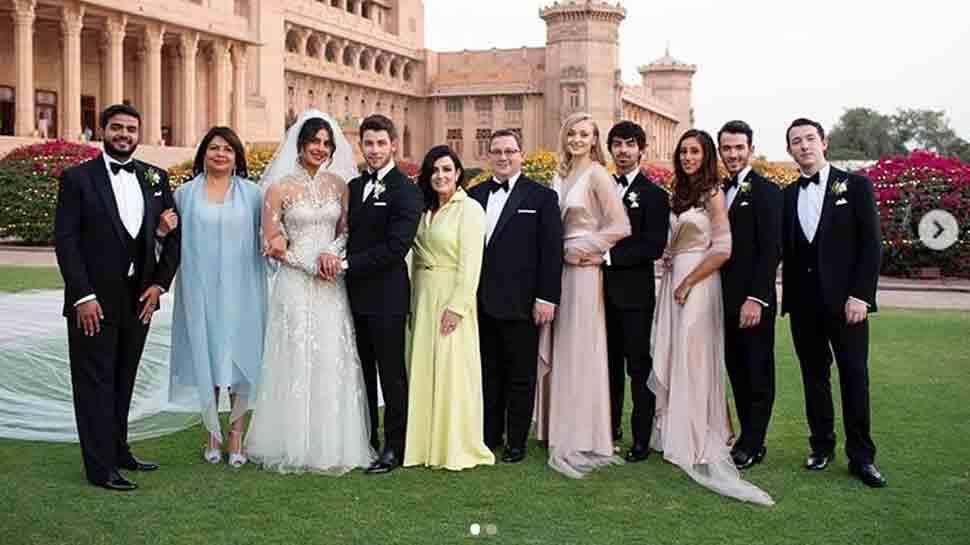 priyanka chopra wedding pics gown