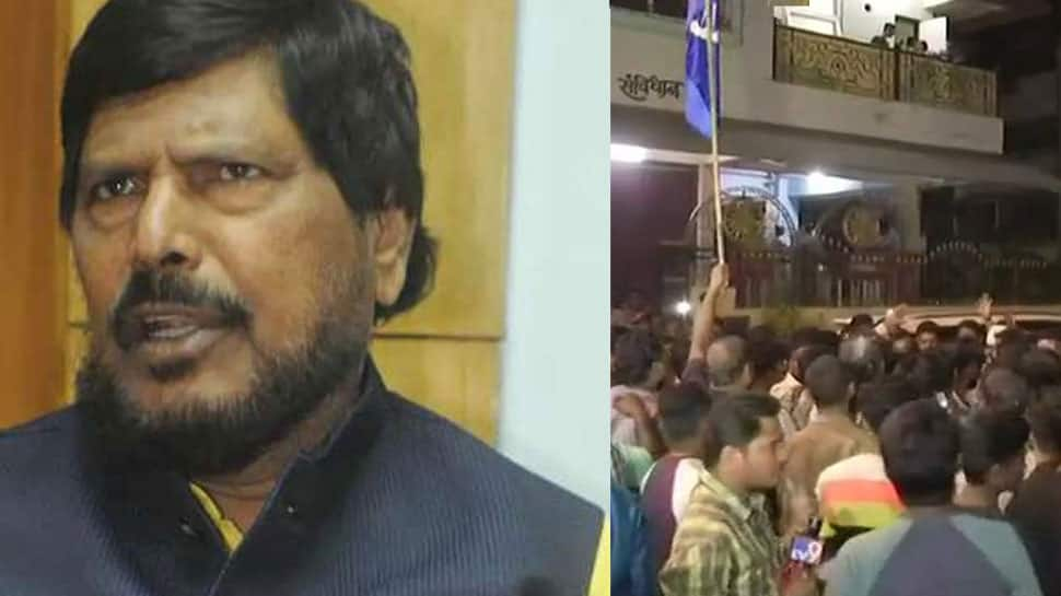 Union Minister Ramdas Athawale attacked by youth in Maharashtra; RPI (A) calls state-wide bandh in protest