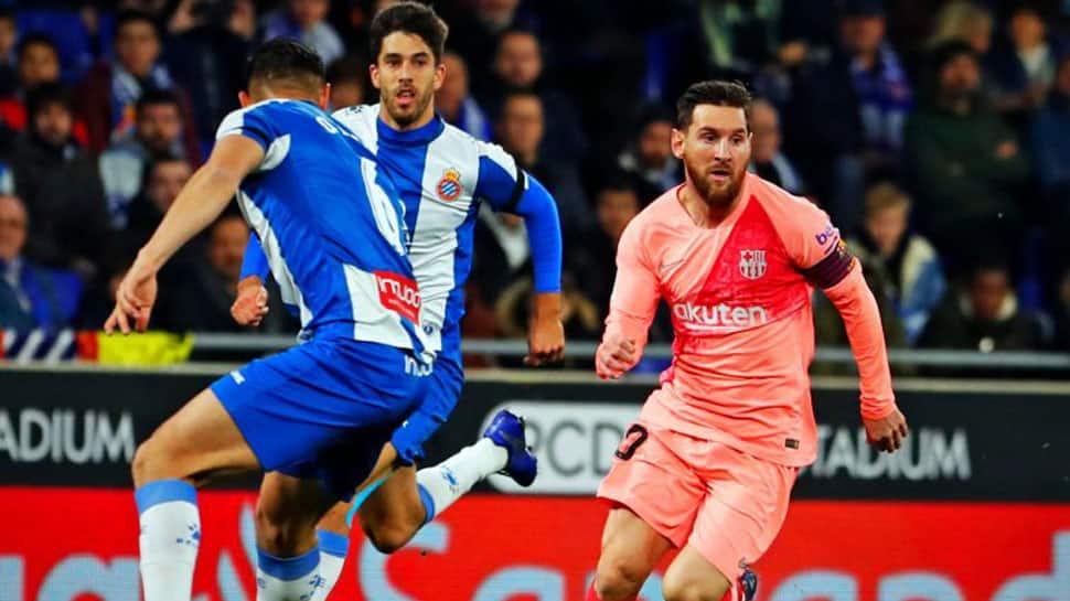 Lionel Messi shines as Barca thrash Espanyol in La Liga