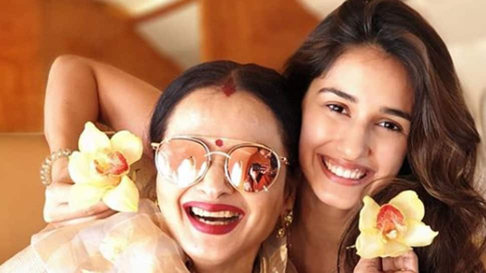 Rekha and Disha Patani's cutesy clicks will make you smile
