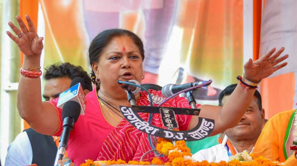 BJP is going to form government with majority, says Rajasthan CM Vasundhara Raje